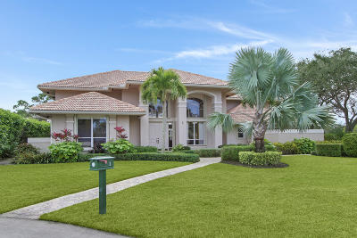 Palm Beach Gardens Single Family Home For Sale: 1 Sheldrake Circle
