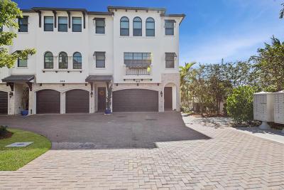 Boynton Beach Single Family Home For Sale: 607 Windward Circle