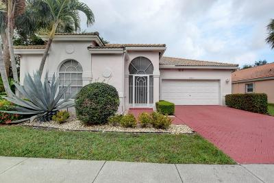Boynton Beach Single Family Home For Sale: 12615 Coral Lakes Drive