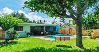 Delray Beach Single Family Home Contingent: 1414 Highland Lane