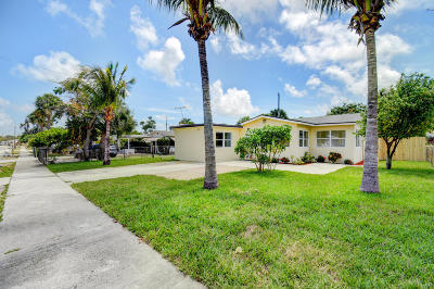 Lake Worth Single Family Home For Sale: 1213 14th Avenue S