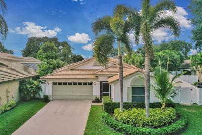 Boynton Beach Single Family Home For Sale: 7764 Manor Forest Lane