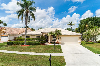 Wellington Single Family Home For Sale: 12606 White Coral Drive