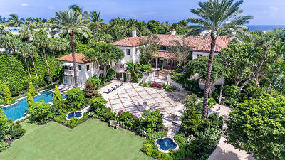 Palm Beach FL Single Family Home For Sale: $17,900,000