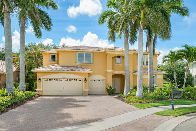 Boca Raton Single Family Home Contingent: 18612 Ocean Mist Drive