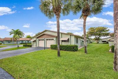 Boynton Beach Single Family Home For Sale: 1755 Palmland Drive #21a