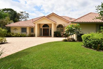 Palm City Single Family Home For Sale: 3892 SW Bimini Circle