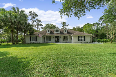 Jupiter Single Family Home For Sale: 13802 157th Court