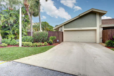 Boca Raton Townhouse Contingent: 7755 Stanway Place E