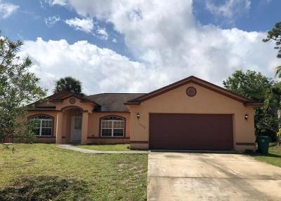 Port Saint Lucie Single Family Home Contingent: 1034 SW Abingdon Avenue