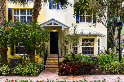 West Palm Beach Townhouse For Sale: 308 Bromeliad