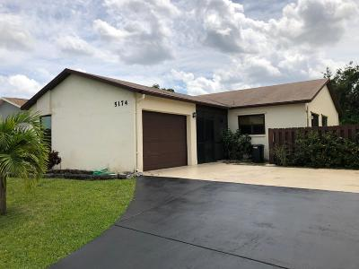 Boynton Beach Single Family Home For Sale: 5174 Minto Road