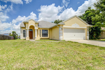 Port Saint Lucie Single Family Home For Sale: 1549 SW Gadsan Avenue