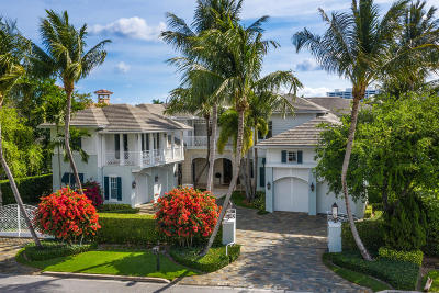 Boca Raton Single Family Home For Sale: 1964 Royal Palm Way