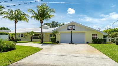Tequesta Single Family Home For Sale: 107 Fairview W