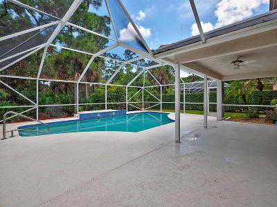 Palm Beach Gardens Single Family Home For Sale: 105 Bent Tree Drive