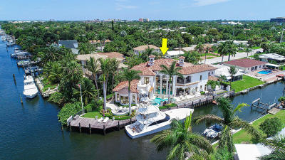 North Palm Beach Single Family Home For Sale: 2086 Waterway Drive