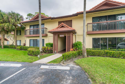 Palm Beach Gardens Condo For Sale: 1105 Duncan Circle #202