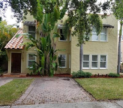 West Palm Beach Single Family Home For Sale: 1204 Florida Avenue