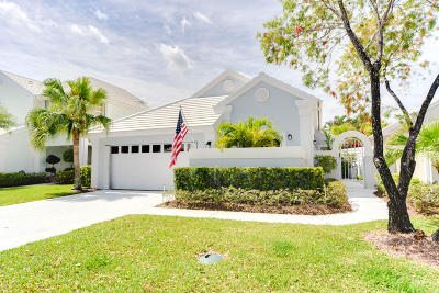 Palm Beach Gardens Single Family Home For Sale: 39 Dorchester Circle