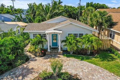 West Palm Beach Single Family Home For Sale: 220 Malverne Road