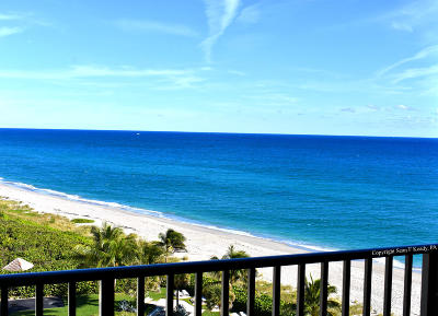 Juno Beach Condo For Sale: 450 Ocean Drive #904