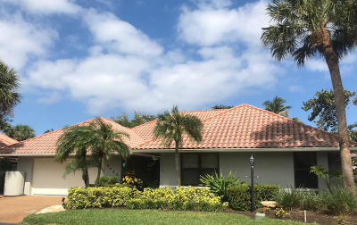 Jupiter Single Family Home For Sale: 1475 Via Cameron