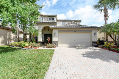Lake Worth, Lakeworth Single Family Home For Sale: 10371 Old Winston Court