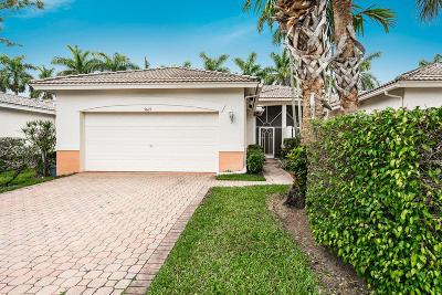 Boynton Beach Single Family Home For Sale: 9619 Crescent View Drive