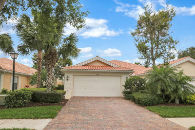 Palm Beach Gardens Single Family Home Contingent: 859 Niemen Drive
