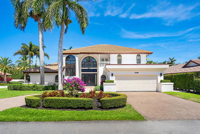 Mizner Court, Mizner Court Cond I, Royal Palm Yacht & Cc, Royal Palm Yacht & Country Club, Royal Palm Yacht And Country Club, Royal Palm Yacht And Country Club Sub In Pb 26 Pgs, Royal Palm Yacht And Country Club Subdivision Single Family Home For Sale: 2100 Queen Palm Road