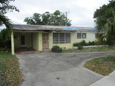 Fort Lauderdale Single Family Home For Sale: 2511 NW 28th Terrace
