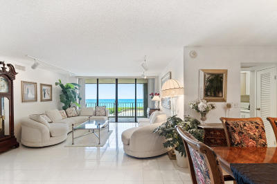 Palm Beach Condo For Sale: 3200 S Ocean Boulevard #D401