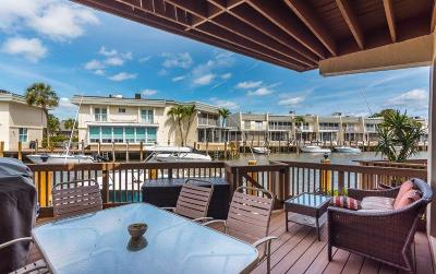 Highland Beach  Townhouse For Sale: 1037 Boca Cove Cove