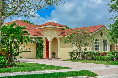 Jupiter Single Family Home For Sale: 110 Via Rosina