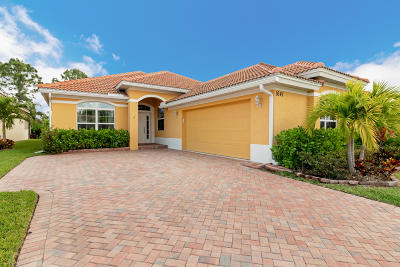 Jensen Beach Single Family Home For Sale: 1641 NW Marsh Creek Drive