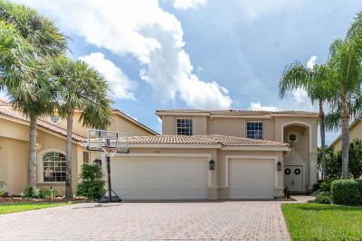 Lake Worth, Lakeworth Single Family Home For Sale: 7361 Via Leonardo
