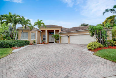 Lake Worth Single Family Home For Sale: 4174 Cedar Creek Ranch Circle