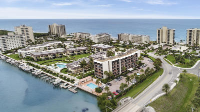 Tequesta Condo Contingent: 225 Beach Road #203
