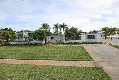 North Palm Beach Single Family Home Contingent: 606 Riverside Road