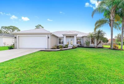 Port Saint Lucie Single Family Home Contingent: 1399 SW Hibiscus Street