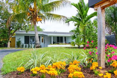 Wilton Manors Single Family Home For Sale: 401 NW 21st Street