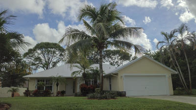 Port Saint Lucie Single Family Home Contingent: 2534 SW Grotto Circle