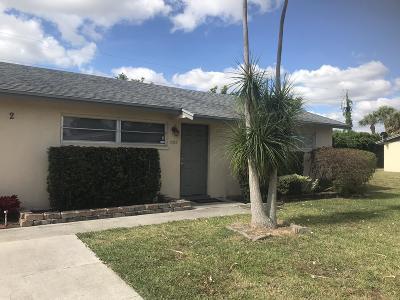 West Palm Beach Single Family Home For Sale: 5022 Michigan Avenue #B