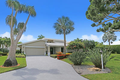 Delray Beach Single Family Home Contingent: 665 Lakewoode Circle E