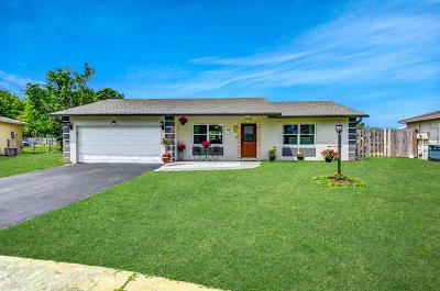 Boca Raton Single Family Home For Sale: 9435 Southampton Place
