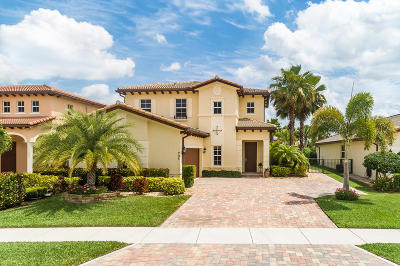 Jupiter Single Family Home Contingent: 205 Andros Harbour Place