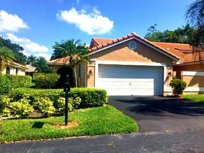 Boca Raton Single Family Home For Sale: 10619 Ladypalm Lane #A