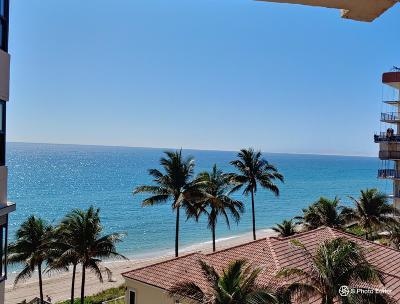 Hillsboro Beach Rental For Rent: 1155 Hillsboro Mile #609