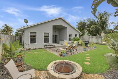 Jupiter Single Family Home For Sale: 1009 Cheyenne Street